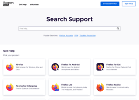support.mozilla.com