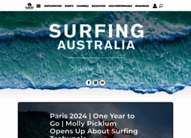 surfingaustralia.com