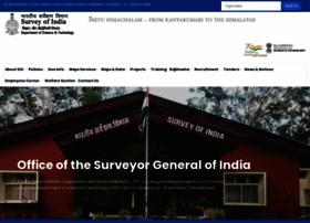 surveyofindia.gov.in