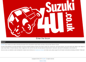 suzuki4u.co.uk