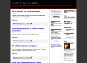 sweepstakeshunter.blogspot.com