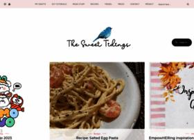 sweettidings.blogspot.com