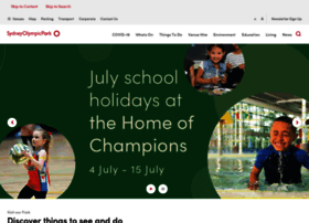 sydneyolympicpark.com.au