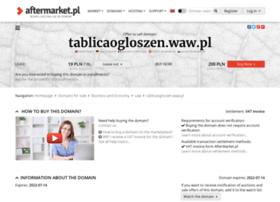 tablicaogloszen.waw.pl