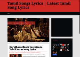 tamilsonglyric.blogspot.com