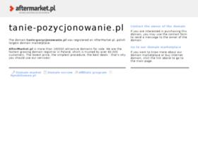 tanie-pozycjonowanie.pl