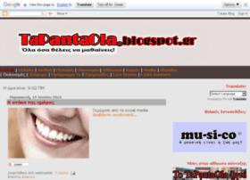 tapantaola.blogspot.com