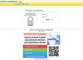 Tariquia.uajms.edu.bo