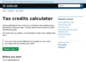 taxcredits.inlandrevenue.gov.uk