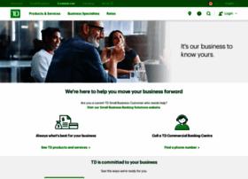 tdcommercialbanking.com