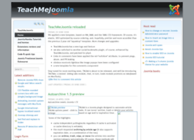 Teachmejoomla.net