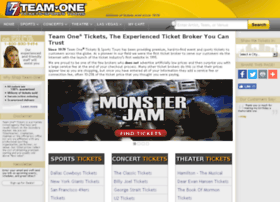 teamonetickets.com