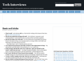 techinterviews.com