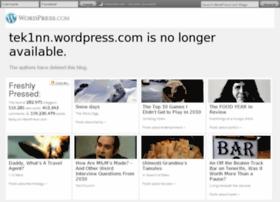tek1nn.wordpress.com