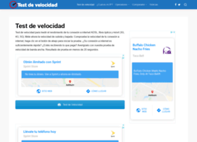 testdevelocidadmovil.es