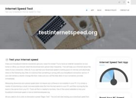 testinternetspeed.org