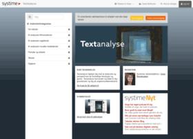 textanalyse.systime.dk