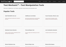 textmechanic.com