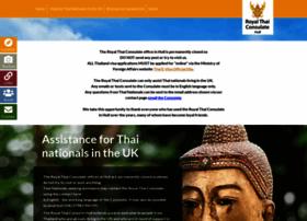 Thaiconsul-uk.com