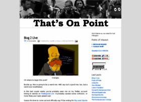 thatsonpoint.blogspot.com