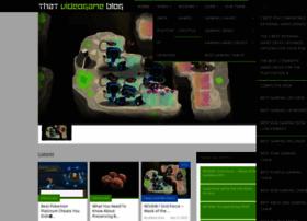 thatvideogameblog.com