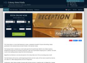 the-colony-hotel-haifa.h-rez.com
