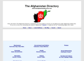theafghanistandirectory.com