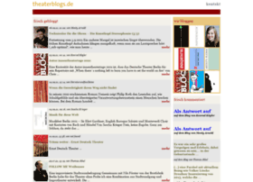 theaterblogs.de