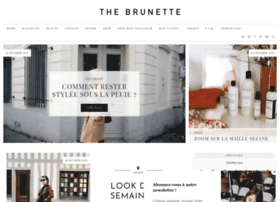 thebrunette.fr