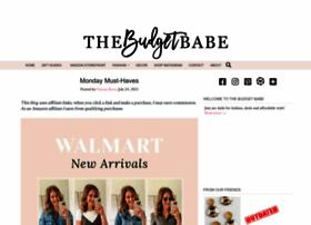 thebudgetbabe.com