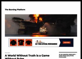 theburningplatform.com