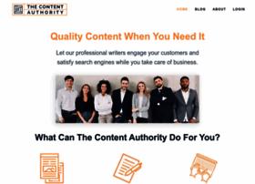 thecontentauthority.com