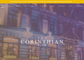 thecorinthianclub.co.uk