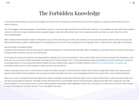 theforbiddenknowledge.com