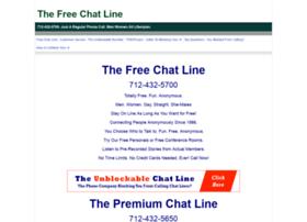 thefreechatline.com