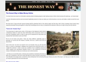 thehonestway.com