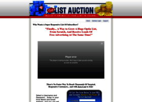thelistauction.com