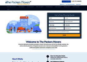 thepackersmovers.com