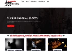 theparanormalsociety.org