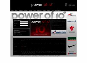 thepowerof10.info
