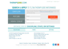 therapyjobs.com