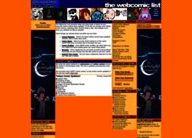 thewebcomiclist.com