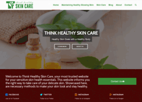 thinkhealthyskincare.com
