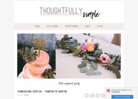 thoughtfullysimple.com