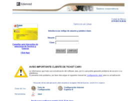 Ticketcar.edenred.com.mx