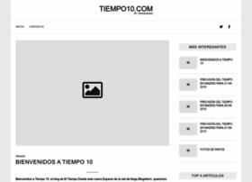 tiempo10.com