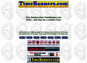 timebanners.com