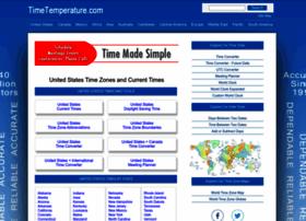 timetemperature.com