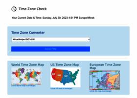 timezonecheck.com
