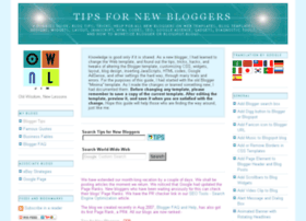 tips-for-new-bloggers.blogspot.com